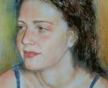 Pensive -pastel 2003