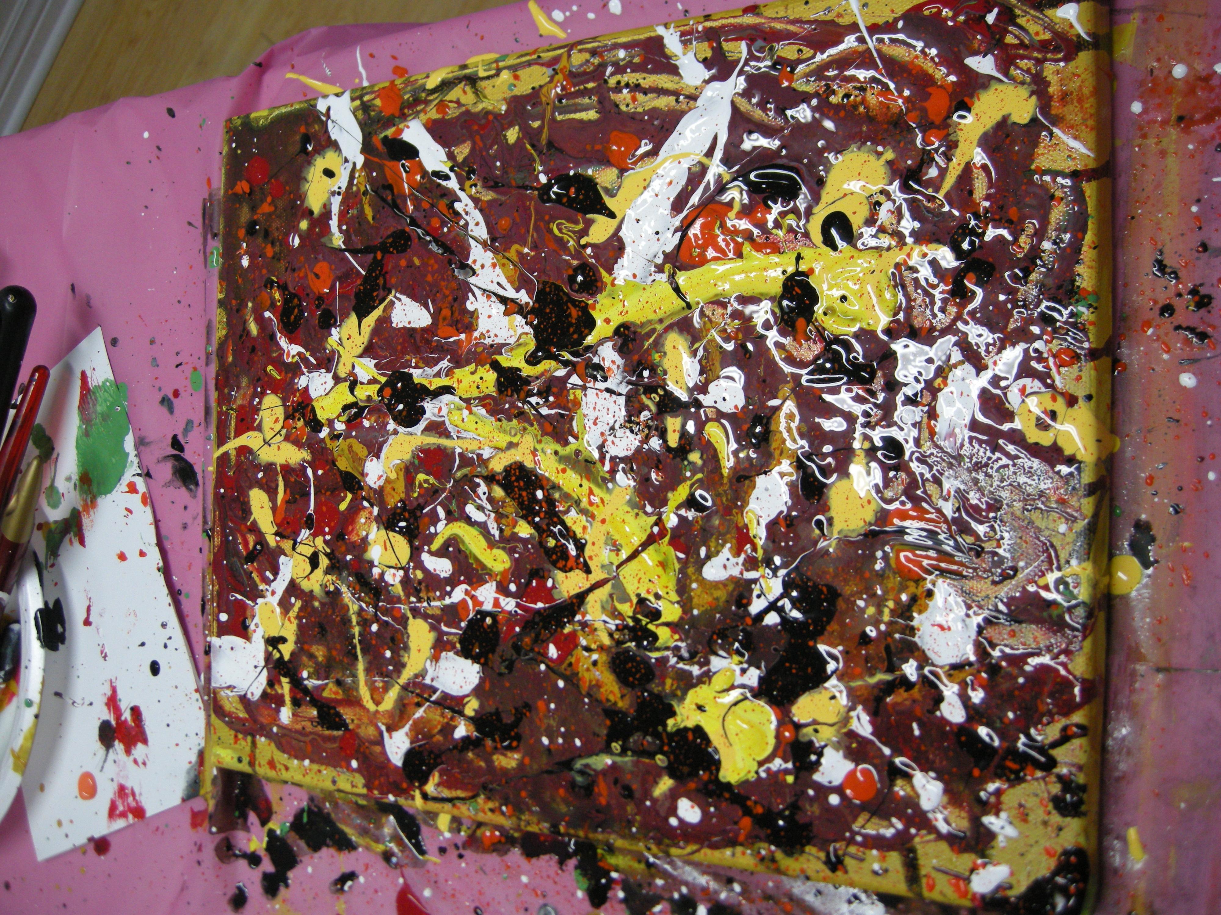 a Pollock